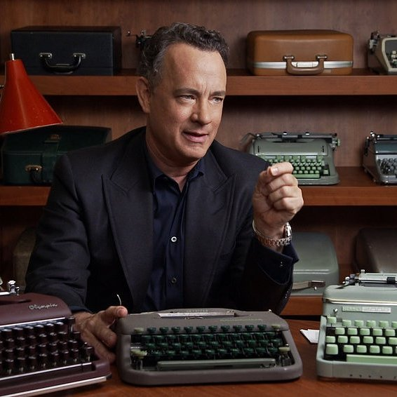 Tom Hanks in California Typewriter Movie